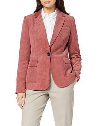 Comma Women's 81.910.54.2074 Suit Jacket, Red (Blush 52), 12 (Size: )