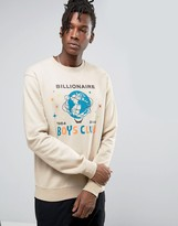 Billionaire Boys Club Sweatshirt With Billion Dollar Print