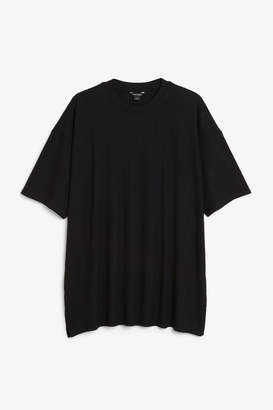 Monki Oversized side slit top