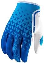 Troy Lee Designs XC StarburstensX/Offroad Gloves Cyan Blue/WhiteD