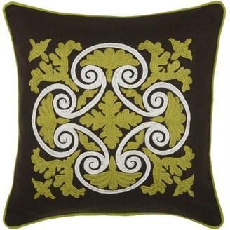 Wildon Home Delphineum Wool Throw Pillow