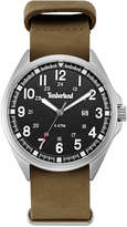 Timberland Men's Raynham Brown Leather Strap Watch 44x48mm TBLGS14829JS02AS
