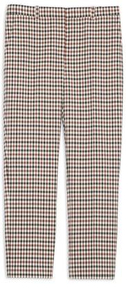 Theory Treeca Plaid Pants