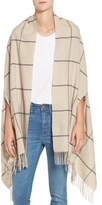 Madewell Women's Check Wool Wrap