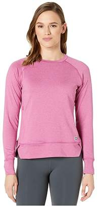 Helly Hansen Hyggen Long Sleeve (Festival Fuchsia) Women's Clothing