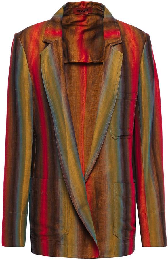 Missoni Linen And Cotton-blend Blazer