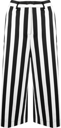 Pinko Striped Cropped Trousers