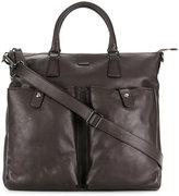 Zanellato pocket detail messenger bag