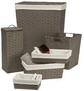Creative Bath Essex Hamper/Storage Set (6 PC)