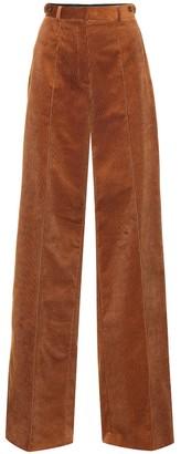 Rokh Wide-leg corduroy pants