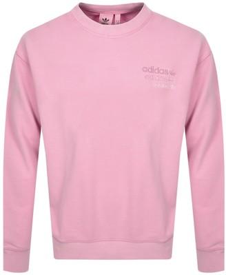 adidas Overdyed Sweatshirt Pink