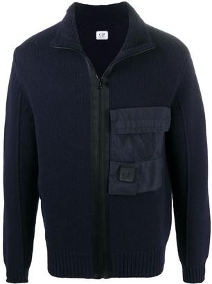 C.P. Company Long-Sleeve Wool Sweatshirt