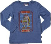 City Threads Super Robot Slub Tee (Toddler/Kid) - Smurf-7