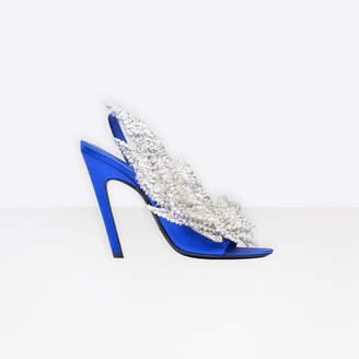 Balenciaga Slash Heel Sandals