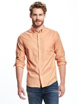 Old Navy Slim-Fit Summer-Weight Oxford Shirt For Men
