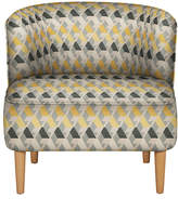 Marks and Spencer Kerava Armchair Miro Chenille Yellow Mix - Self Assembly