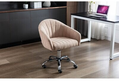Battershell For Living Room/Bed Room, Modern Leisure Office Chair Everly Quinn Upholstery Color: Camel