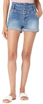 Thumbnail for your product : Rock and Roll Cowgirl High-Rise Denim Shorts in Medium Vintage 68H9784