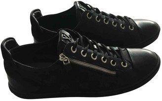 Louis Vuitton Black Polyester Trainers