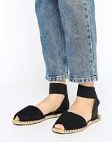 Aldo Ankle Strap Peep Toe Sandals