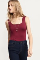 Dynamite Tank Top With Wide Straps