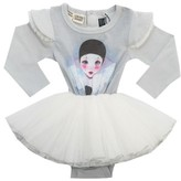 Rock Your Baby Infant Girl's Dance It Out Circus Tutu Bodysuit