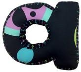 "One Grace Place Magical Michayla Letter Pillow ""A"" - Multicolor (12""X11"")"