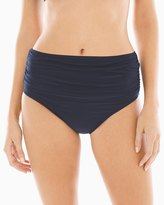 Soma Intimates Magicsuit Shirred High Waist Swim Bottom