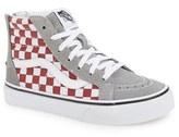 Vans Girl's 'Sk8-Hi Zip' Sneaker