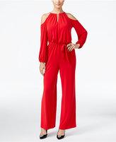 Thalia Sodi Cold-Shoulder Jumpsuit, Only at Macy's
