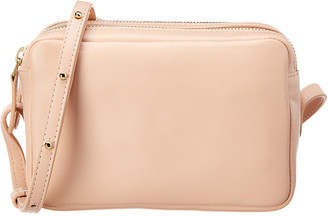 Mansur Gavriel Double Zip Leather Crossbody