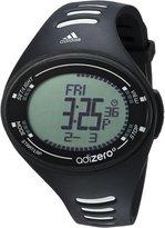 adidas Men's Adizero ADP3502 Black Polyurethane Quartz Watch with Dial