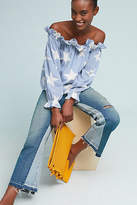 Amo Reworked Mid-Rise Kick Flare Jeans