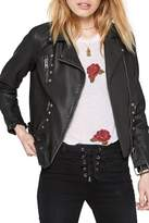 Amuse Society Blackhawk Faux Leather Jacket