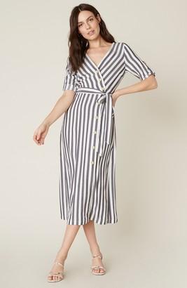 BB Dakota Set Sail Button-Front Dress