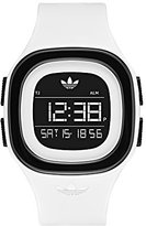 adidas Women's 'Denver' Quartz Plastic and Silicone Casual Watch, Color:White (Model: ADH3134)
