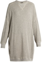 R 13 X-Oversized cotton-jersey sweatshirt