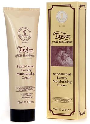 Taylor of Old Bond Street Sandalwood Moisturising Cream 75ml