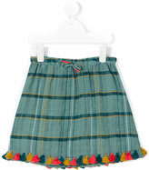 Nice Things Checked Skirt - kids - Cotton - 4 yrs