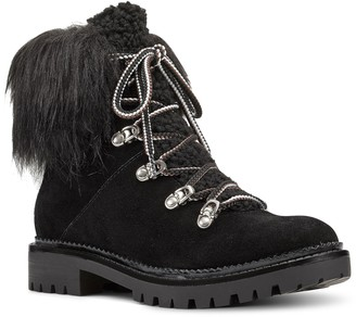 Nine West Lace Up Boots - Alex