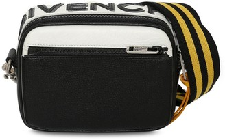 Givenchy Reversible Logo Leather Crossbody Bag