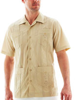 JCPenney The Havanera Co. Guayabera Shirt