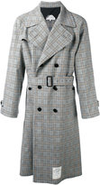Maison Margiela Re-edition checked trench coat - men - Cotton/Spandex/Elastane/Wool - 48