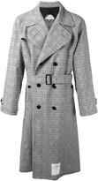 Maison Margiela Re-edition checked trench coat - men - Cotton/Spandex/Elastane/Wool - 48