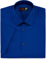 Jf J.Ferrar JF Short-Sleeve Slim Fit Dress Shirt