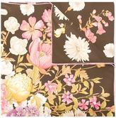 Salvatore Ferragamo bouquet print scarf