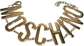 Moschino For H&m Gold Metal Necklaces