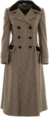 Miu Miu Prince Of Wales Coat