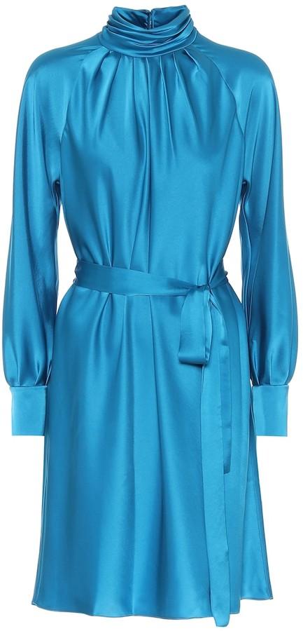 Diane von Furstenberg Vida satin dress