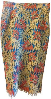 River Island Blue Cotton - elasthane Skirt for Women